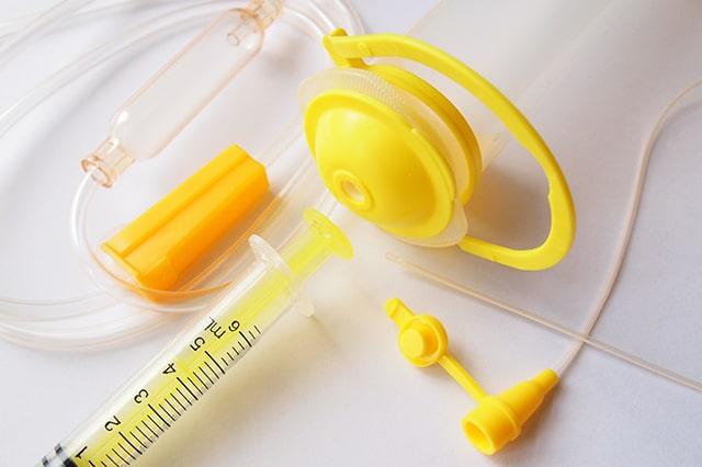 経管栄養で使用するチューブのイメージ