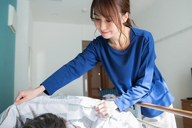 訪問介護で働く介護士のイメージ